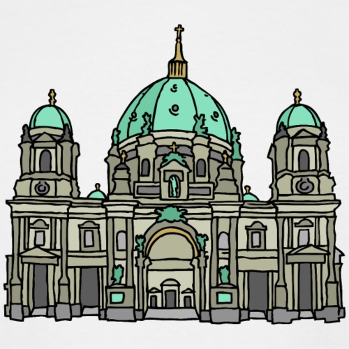 Berlin Cathedral - Men's Tall T-Shirt