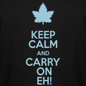 Keep Calm and Carry On Eh! - Men's Tall T-Shirt