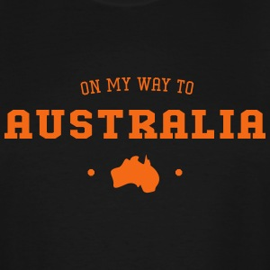 On my way to Australia - Men's Tall T-Shirt