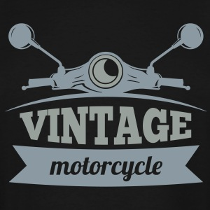 Vintage Motorcycle - Men's Tall T-Shirt