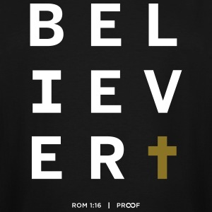 B E L I E V E R - Men's Tall T-Shirt
