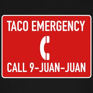 Taco Emergency 9-Juan-Juan - Men's Tall T-Shirt