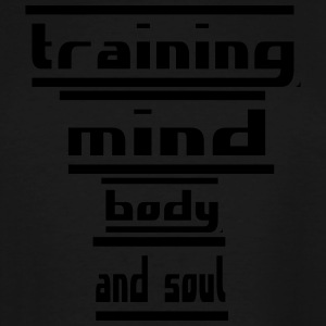 training mind body and soul - Men's Tall T-Shirt