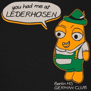 You Had Me At Lederhosen Berlin HS German Club - Men's Tall T-Shirt