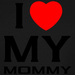 I Love my mommy - Men's Tall T-Shirt