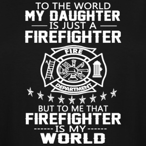MY DAUGHTER IS FIREFIGHTER T Shirt - Men's Tall T-Shirt
