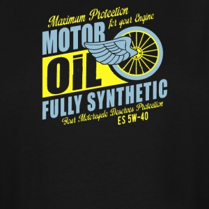 Maximum proteetion for your engine motor oil - Men's Tall T-Shirt