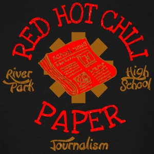 River Park High School Journalism Red Hot Chili Pa - Men's Tall T-Shirt