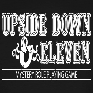 Upside Down and Eleven - Men's Tall T-Shirt