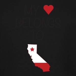 California Love - Men's Tall T-Shirt