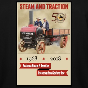 Booleroo Steam & Traction - Men's Tall T-Shirt