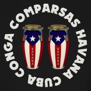 conga comparsas - Men's Tall T-Shirt