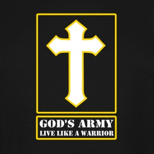 God's Army Live Like A Warrior - Men's Tall T-Shirt