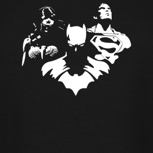 Justice League Batman Superman - Men's Tall T-Shirt
