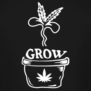 Grow Marijuana - Men's Tall T-Shirt