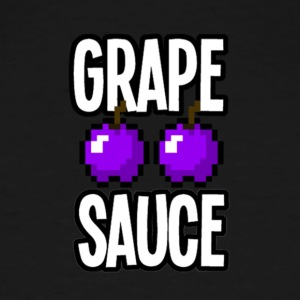 Grape Apple Sauce Double Apple Logo - Men's Tall T-Shirt