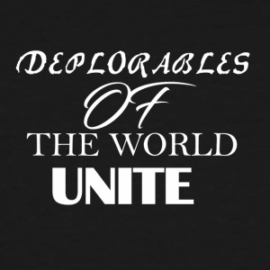 Deplorables of the world unite - Men's Tall T-Shirt
