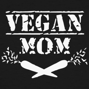 Cool VEGAN MOM Shirt - Men's Tall T-Shirt