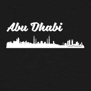 Abu Dhabi Skyline - Men's Tall T-Shirt