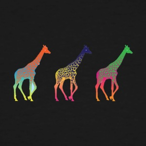 Giraffe Fade - Men's Tall T-Shirt