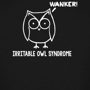 Irritable Owl Syndrome - Men's Tall T-Shirt