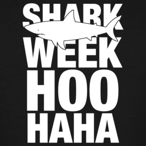 Shark Week Hoo Haha - Men's Tall T-Shirt