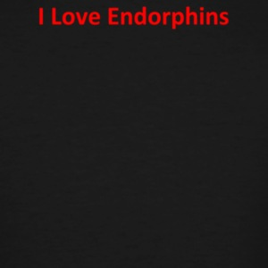 I Love Endorphins - Men's Tall T-Shirt