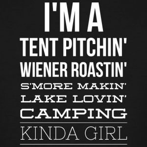 Camping kinda girl - Men's Tall T-Shirt