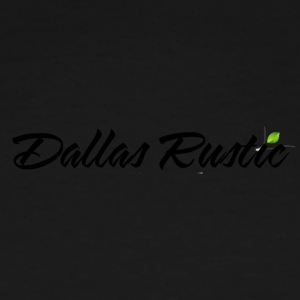 dallas rustic blk - Men's Tall T-Shirt
