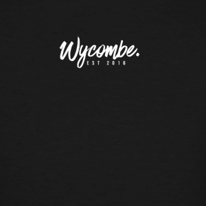 WYCOMBE Cursive Font - Men's Tall T-Shirt