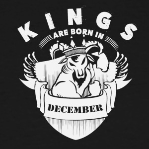 Kings are born in December - Men's Tall T-Shirt