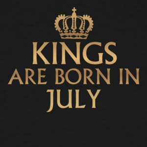 Kings are Born in July - Men's Tall T-Shirt