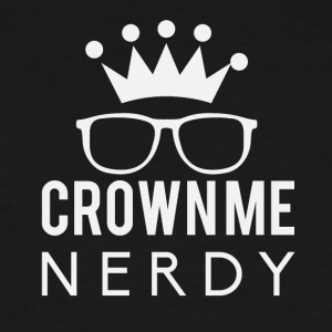 Crownie nerdy - Men's Tall T-Shirt