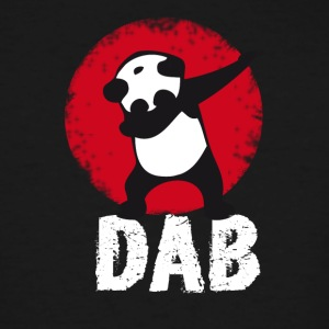 DAB panda dabbing football touchdown mooving dance - Men's Tall T-Shirt