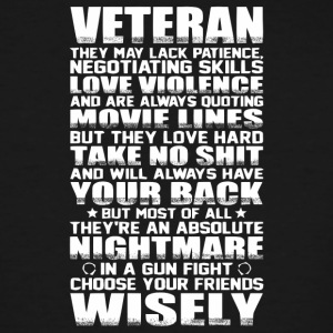 Veteran T Shirt - Men's Tall T-Shirt