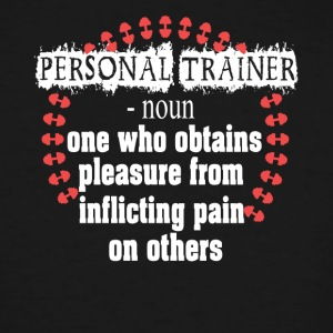 Personal Trainer Shirt - Men's Tall T-Shirt