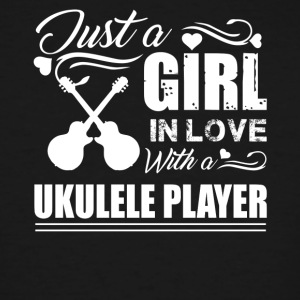 Girl In Love With Ukulele Player - Men's Tall T-Shirt
