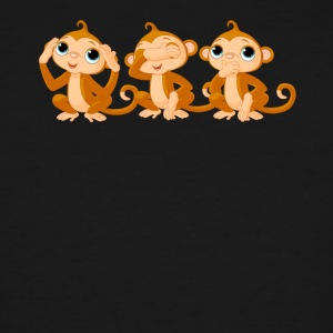 Monkey Tee Shirts - Men's Tall T-Shirt