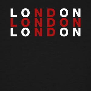 London United Kingdom Flag Shirt - London T-Shirt - Men's Tall T-Shirt