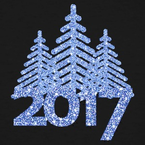 2017 christmas tree-new-year-noël - T-shirt grande taille homme