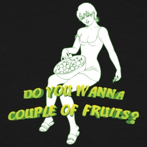 do_you_wanna_couple_of_fruits - Men's Tall T-Shirt
