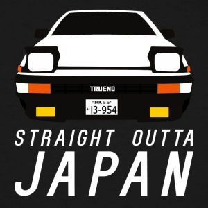 TOYOTA AE86 PANDA TRUENO - STRAIGHT OUTTA JAPAN - Men's Tall T-Shirt