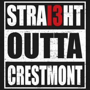 Straight outta crestmont - Men's Tall T-Shirt