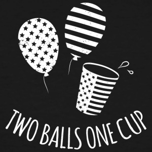 Two Balls One Cup - Men's Tall T-Shirt