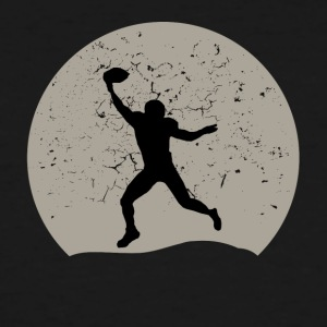 Football Full Moon - Men's Tall T-Shirt