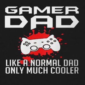 GAME DAD LIKE A NORMAL DAD - Men's Tall T-Shirt