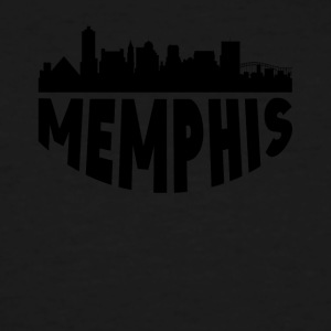 Memphis TN Cityscape Skyline - Men's Tall T-Shirt