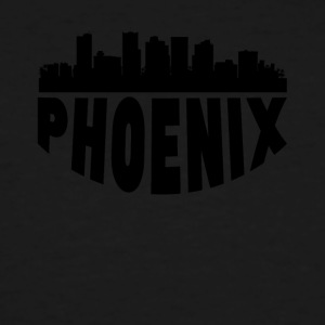 Phoenix AZ Cityscape Skyline - Men's Tall T-Shirt