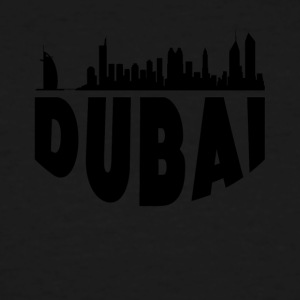 Dubai United Arab Emirates Cityscape Skyline - Men's Tall T-Shirt