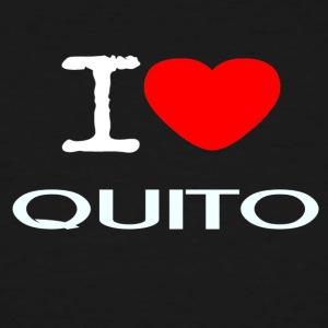 I LOVE QUITO - Men's Tall T-Shirt